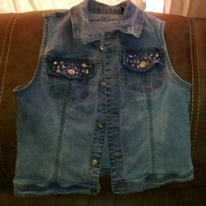 Arizona Jeans Girls Vest LARGE